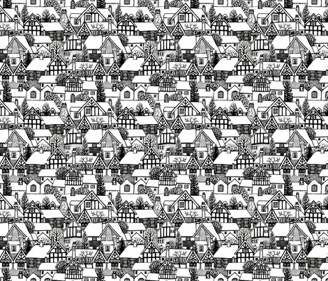 Rrspoonflower_black_and_white_houses_six_square._contest82394preview