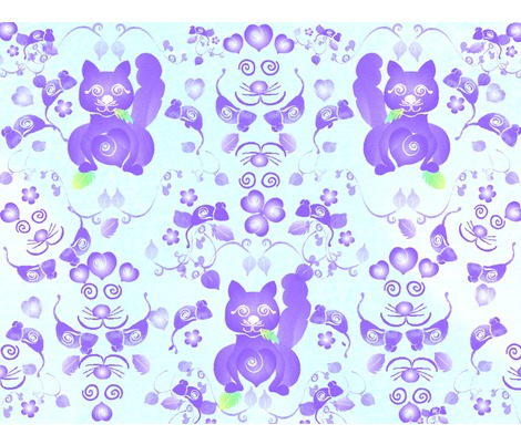 Rrspoonflower_kitty_demask_1_blue_2_contest82648preview