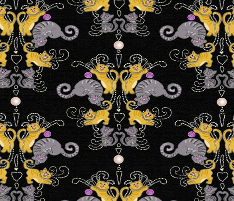 Rrrrcats_and_pearls_plain_on_black_linen_contest83566preview