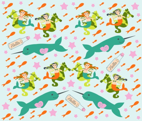 Rspoonflower_mermaids_pattern_copy_contest100661preview