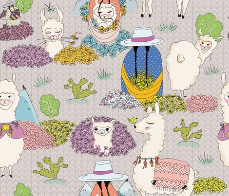 Rspoonflower_llamas_contest102545preview