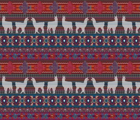Rperuvian_llamas_18x18_contest103228preview